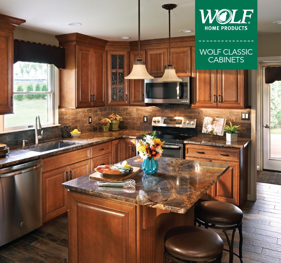 WOLF Classic Cabinets. Bison Bath U0026 Kitchen Design